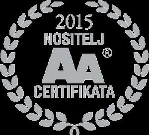 AA certifikat - O NAMA